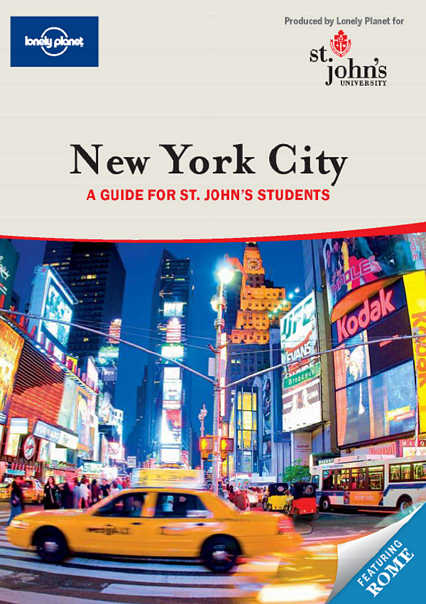 Lonely Planet St.Johns University Guide