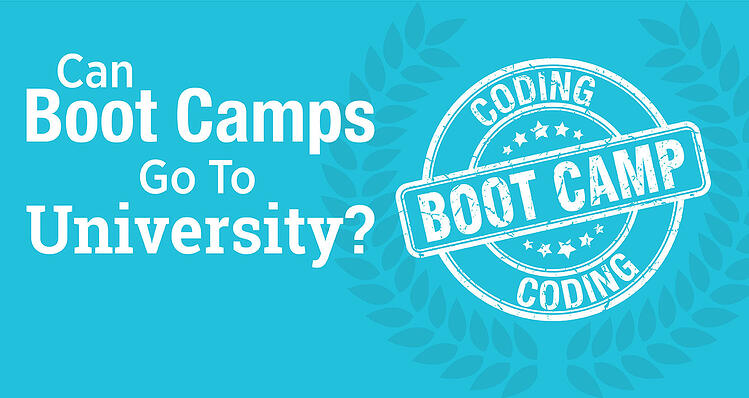 Can Boot Camps Go to University?