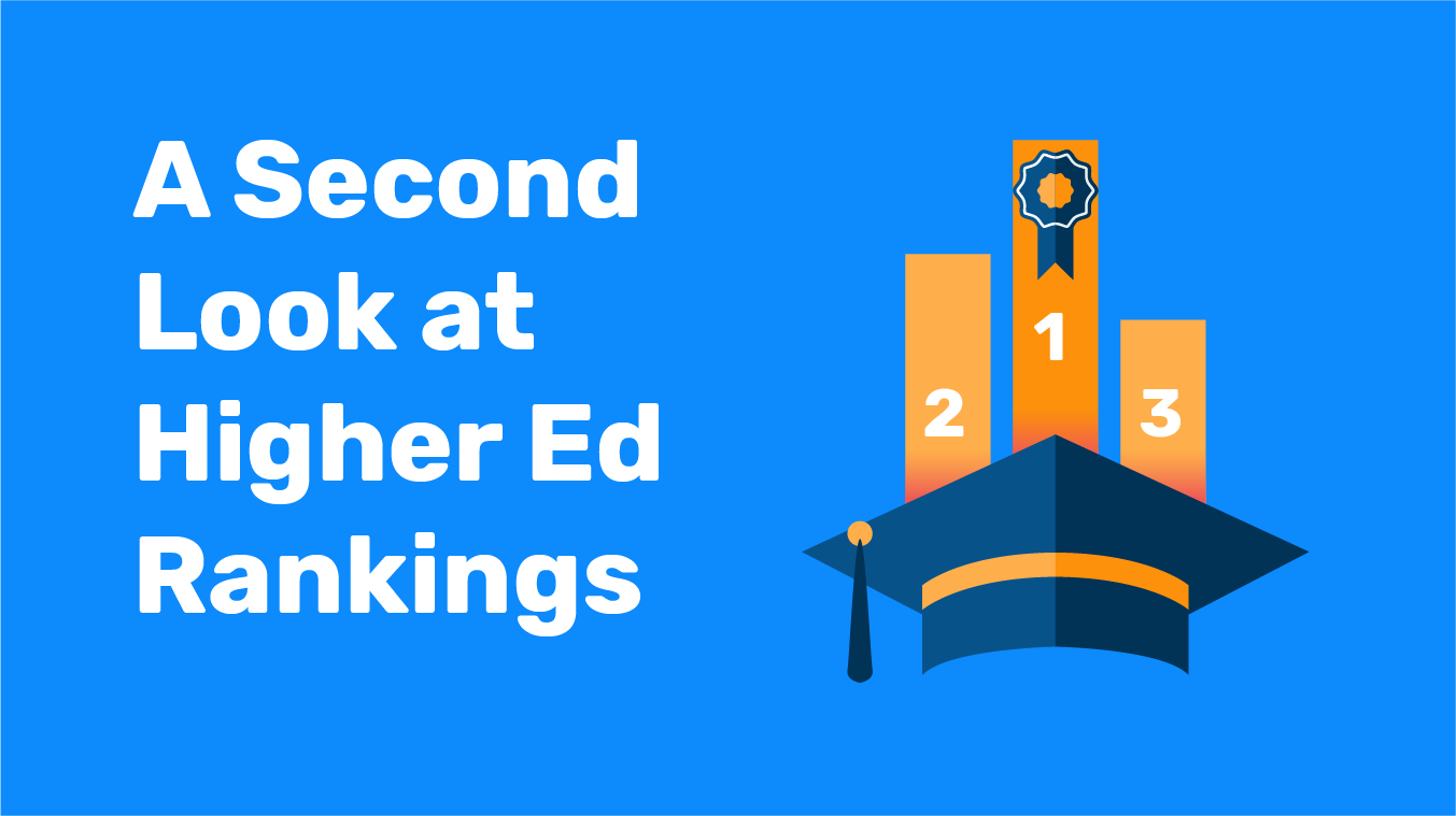 A Second Look at Higher Ed Rankings