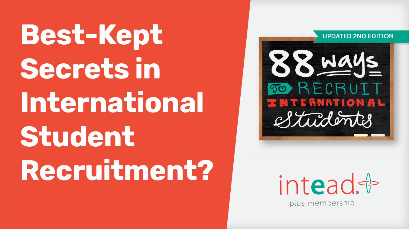Best-Kept Secrets in International Student Recruitment?