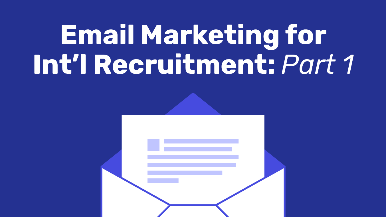 Email for International Recruitment: Part 1