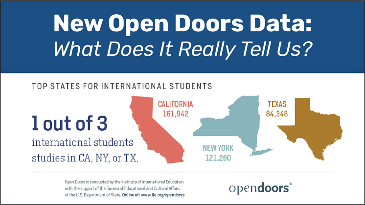 New Open Doors Data: What Does It Really Tell Us?