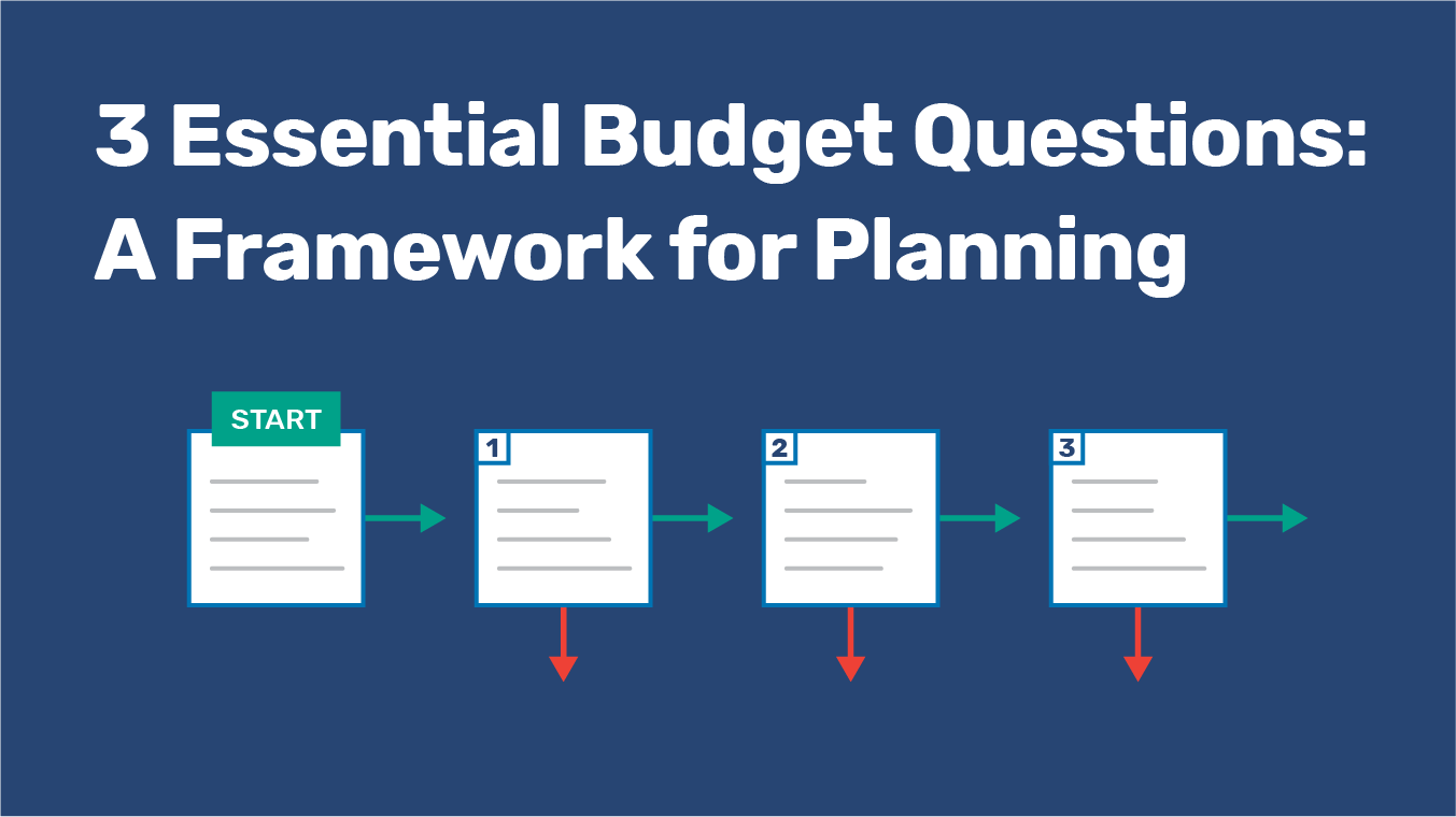3 Essential Budget Questions: A Framework for Planning