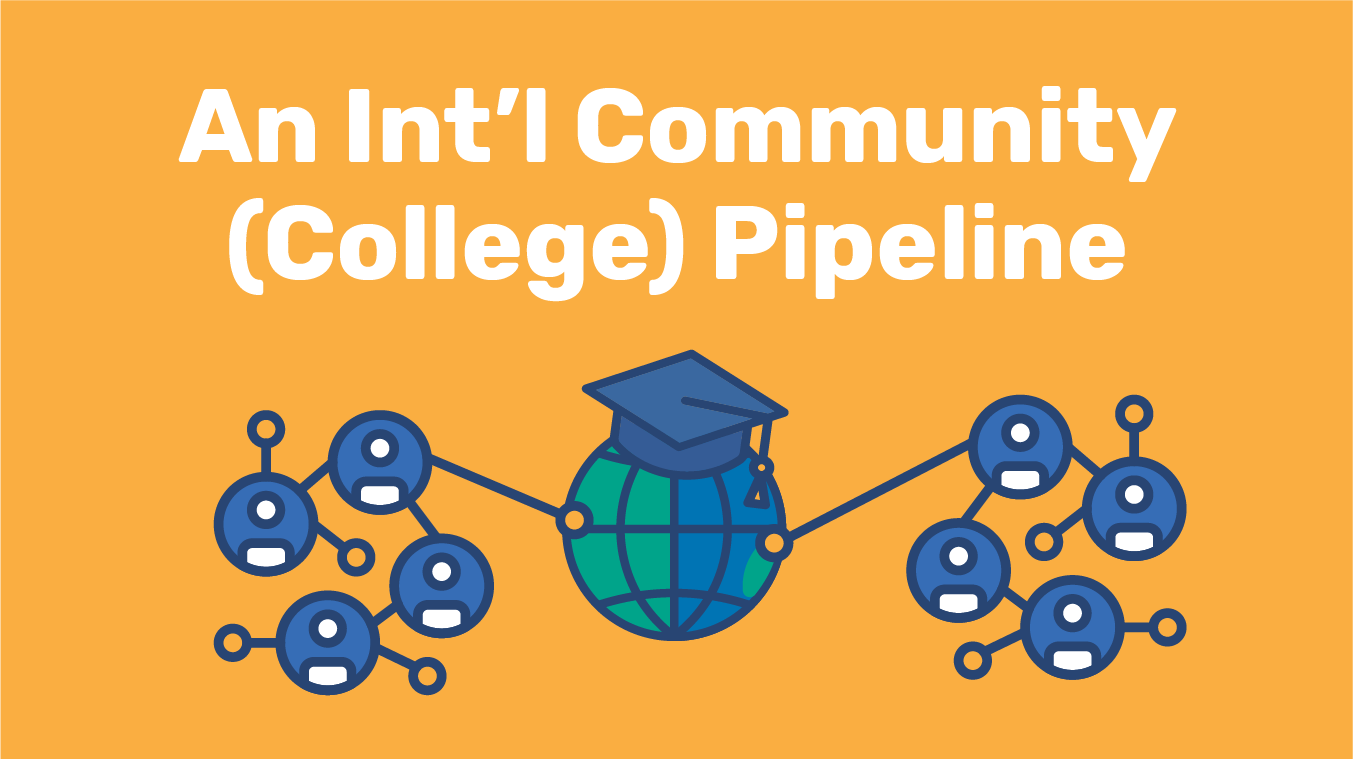 An International Community (College) Pipeline