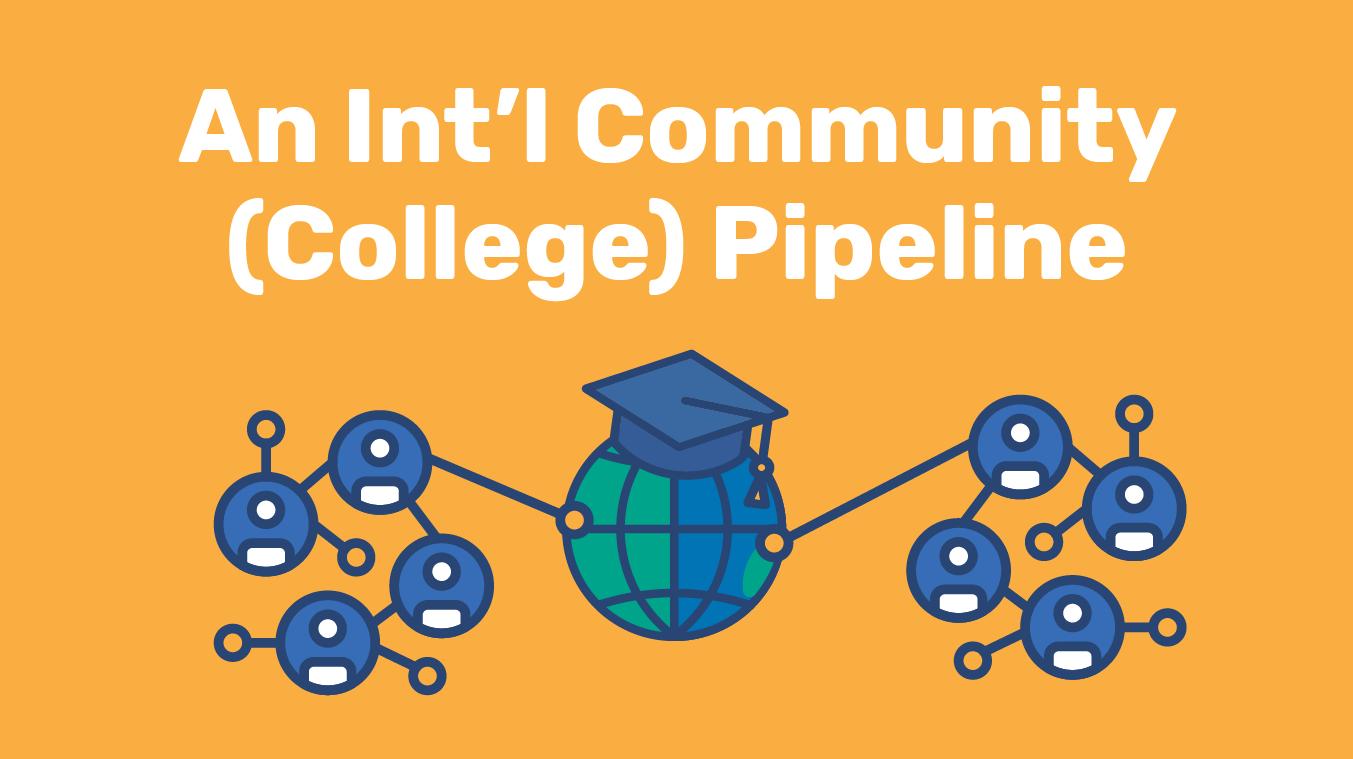 An International Community (College) Pipeline